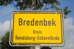 Ortseingangschild von Bredenbek